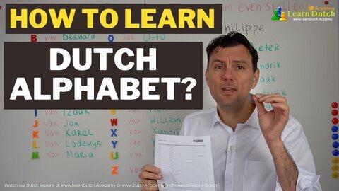 How to learn Dutch dutch